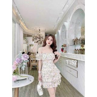 Đầm lụa hoa quá đẹp - T152 thumbnail