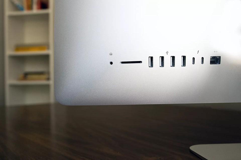 kết nối iMac 21.5 inch 2020 Retina 4K