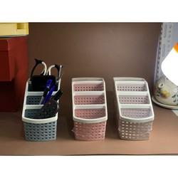 Khay kệ nhựa tiện ích 4 ngăn, để bàn, đựng đồ, đựng bút, văn phòng phẩm, mỹ phẩm, ..đồ dùng đa năng phù hợp bàn làm việc, phòng tắm , nhà bếp – hàng Việt Nam chất lượng cao,