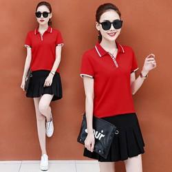 SL8328 - Set áo và chân váy thể thao nữ hàng nhập - giá 720k