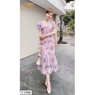váy voan đuôi cá - V1900 thumbnail
