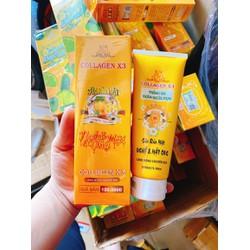 Sữa rửa mặt Nghệ Collagen X3 Đông Anh - Chính hãng - Sửa rửa mặt X3