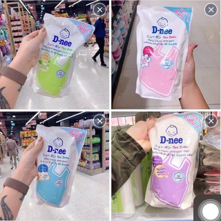 Nước giặt xả Dnee túi 600ml đủ màu - giatxa thumbnail