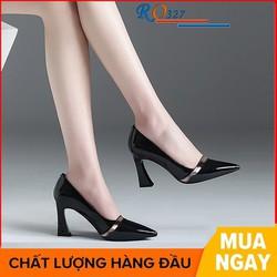 Giày Bốt Nữ Boot Da Mịn Gót Vuông 5Phân HAPAS – BOT528
