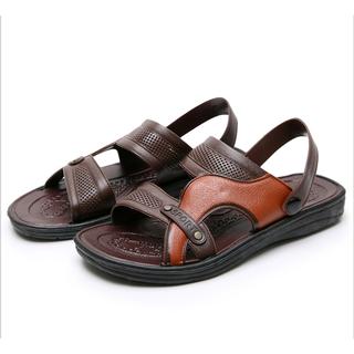 Giày quai hậu nam màu nâu chống trượt - GQNMN thumbnail