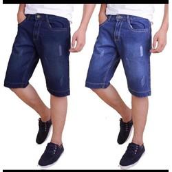 Quần shorts jeans nam thời trang  cào xước hình thật size 28 đến 34