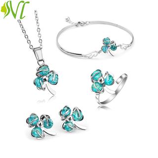 Bộ trang sức 5 món dễ thương ( xem hàng trước khi nhận) - xanhbiern thumbnail