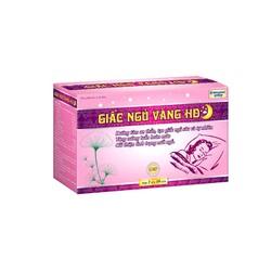Viên Uống Ngủ Ngon  Giấc Ngủ Vàng Giúp Dưỡng Tâm An Thần, Giảm Stress Mất Ngủ - Hộp 30 viên thành phần thảo dược thiên nhiên