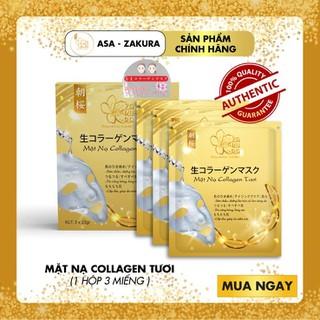 MẶT NẠ COLLAGEN TƯƠI (HỘP 3 MIẾNG ) - MN1H-ASA thumbnail