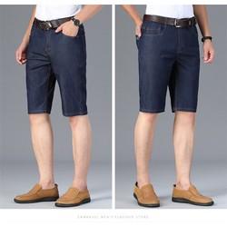 Quần short jeans nam vải dày đẹp