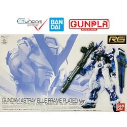 Mô Hình Lắp Ráp RG Astray Blue Frame Plating Gundam Base Limited Bandai 1/144 Đồ Chơi Anime Nhật