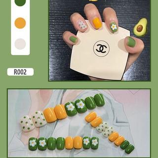 Móng Giả - Set 24 Móng Tay Giả họa tiết thời trang siêu đẹp - R2 - R02 thumbnail