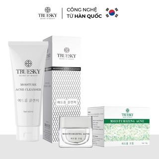 Bộ giảm mụn da mặt Truesky gồm 1 kem ngăn ngừa và giảm mụn 8g + 1 sữa rửa mặt tạo bọt than hoạt tính 60ml - T_KTM_SM thumbnail