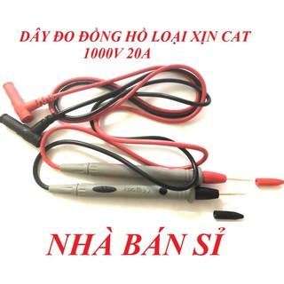 (GIÁ HỦY DIỆT) DÂY ĐO ĐỒNG HỒ VẠN NĂNG CAT 1000V 20A CHÍNH HÃNG - 10272 thumbnail
