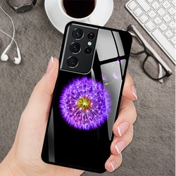 Ốp Lưng Cho Điện Thoại Samsung S21 Ultra Mặt Kính Cường Lực siêu đẹp  - 03119 9240 BOCONGANH10