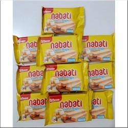 Túi 10 Gói Bánh Xốp Phô Mai Nabati 20g