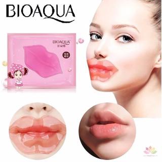 GIÁ SIÊU HỜI - COMBO 10 miếng mặt nạ dưỡng môi hồng mềm mịn - giảm thâm BIOQUA - hàng nội địa - COMBO 10 MIẾNG MẶT NẠ DƯỠNG HỒNG thumbnail