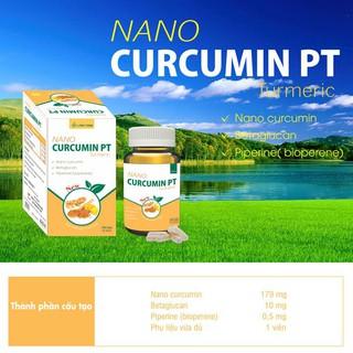 Viên Uống Nano Curcumin PT-Giảm triệu chứng viêm đau dạ dày, tá tràng, nhanh lành vết thương, tăng cường miễn dịch - Nano Curcumin PT thumbnail