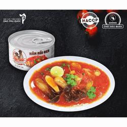 Nấm mối đen sốt cà MITO hộp 188g Đặc sản Phú Quốc – HSD 06/2023 – Có thể ăn chay