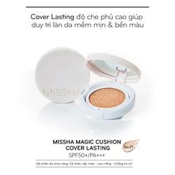 Phấn Nước Kiềm dầu  Magic Cushion Cover Lasting SPF50+/PA+++
