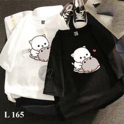 Áo phông in hinh MEO 𝐅𝐑𝐄𝐄𝐒𝐇𝐈𝐏 Áo phông cotton chất đẹp mát  áo unisex  áo phông trắng đen 01