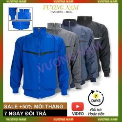 Áo Khoác Nam 2 Mặc Chất Vải Dù 2 Lớp Dày Dặn Chống Nắng Lạnh Đều Tốt