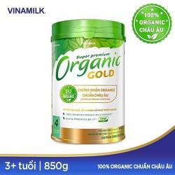 SỮA BỘT ORGANIC GOLD 4 (DÀNH CHO TRẺ TRÊN 3 TUỔI) 850G