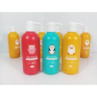 Sữa tắm gội AGI cho bé 500ml - TGAGI thumbnail