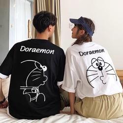 Áo Thun hình Doremon Siêu Cute  Áo phông cotton chất đẹp mát  áo unisex  áo phông trắng đen