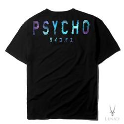 Áo phông in hinh P-Y-C-H-O Màu Xanh 𝐅𝐑𝐄𝐄𝐒𝐇𝐈𝐏 Áo phông cotton chất đẹp mát  áo unisex  áo phông trắng đen