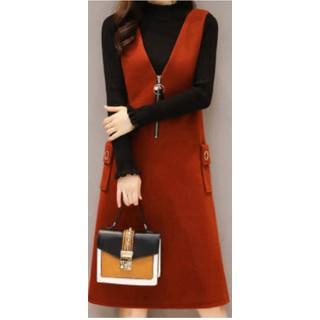 Váy yếm màu đỏ [ĐƯỢC KIỂM HÀNG] 42435657 - 42435657 thumbnail