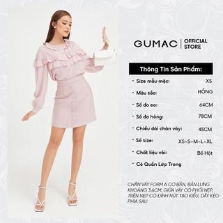 Chân váy gấm nẹp giả form cơ bản GUMAC VB408 [ĐƯỢC KIỂM HÀNG] 42041979 - 42041979 thumbnail