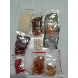 Combo 4 set nguyên liệu nấu Chè Dưỡng Nhan (chè tuyết yến -12 vị như hình -Set 400gr)