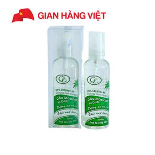 Dầu Massage từ Dừa Cửu Long chai xịt 100ml - DMSX thumbnail