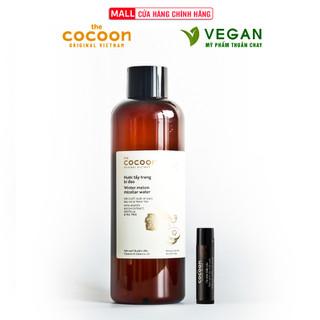 Nước tẩy trang bí đao cocoon 500ml + Cà phê đắk lắk làm sạch da chết môi cocoon 5g - 5569571202 thumbnail