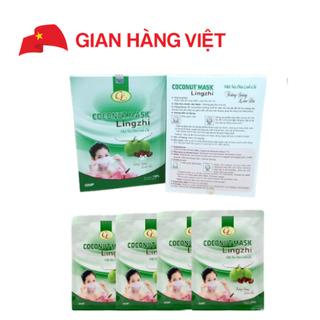 Mặt nạ dừa Linh Chi (4 miếng) - MND4 thumbnail