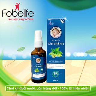 TÂN THÀNH - Chai xịt muỗi từ tinh dầu thiên nhiên- Chai 50ml - XMTT thumbnail
