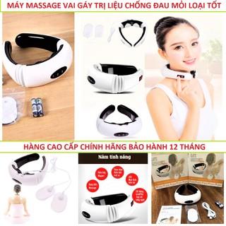 Máy Massage Cổ Vai Gáy 3D Tri Liệu Cao Cấp - MÁY HÀNG CHÍNH HÃNG thumbnail