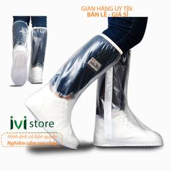Bọc giày đi mưa ủng đi mưa nam nữ chống nước Huihua