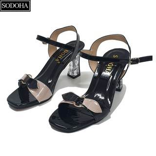 Giày sandal cao gót nữ SODOHA - SGH239 thumbnail
