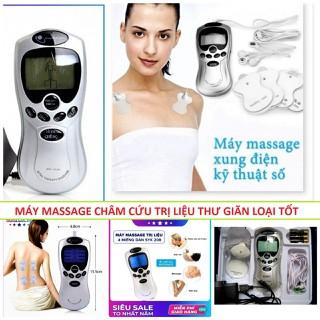 Máy Massage Xung Điện Tri Liệu 4 Miếng Dán CHÍNH HÃNG - HÀNG XỊN thumbnail