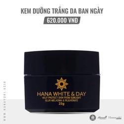 Kem ngày Hanayuki dưỡng trắng da chống nắng hana white day (Date 2023)