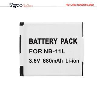 Pin Cho Máy Ảnh Canon Li-ion 3.6V 680mAh 2.4Wh NB-11L - NB-11L thumbnail