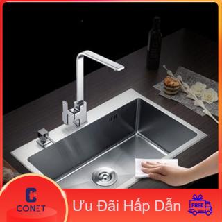 bồn rửa chén 1 hố inox 304 CONET THAILAND hàng đúc - bồn rửa chén thumbnail