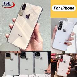 Ốp Lưng iPhone Viền Nhôm Bảo Vệ Camera Siêu Đẹp