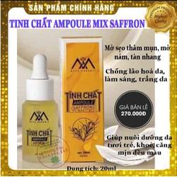Tinh chất serum collagen Ampoule Saffron giúp căng mịn, sáng da, mờ thâm mụn