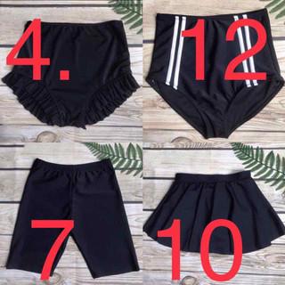 Quần Bơi Nữ Lẻ Đen 1-5 Mẫu - QBL15M thumbnail