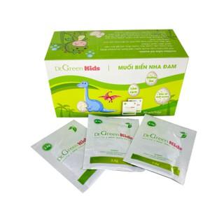 Muối rửa mũi Dr.Green Kids, hộp 30 gói, vệ sinh mũi cho bé, bị xoang mũi - Muối rửa mũi thumbnail