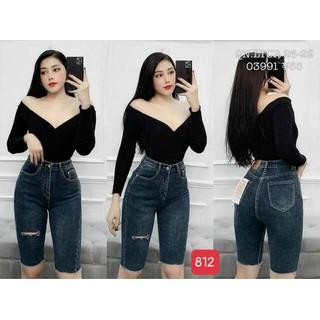 Quần lửng jeans nữ - KK4247 thumbnail