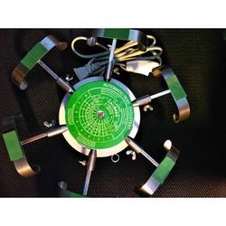 DỤNG CỤ SỬA PHÒNG ĐỒNG HỒ  Bàn xoay điện 6 chấu lên cót đồng hồ cơ khí